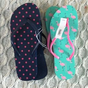 Shoes - NWT flip flop bundle